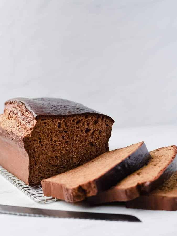 Paleo Sandwich Bread Nut-free | kickassbaker.com #paleo #sandwichbread #breadrecipe #nutfree #cleaneats #kickassbaker #glutenfree #dairyfree
