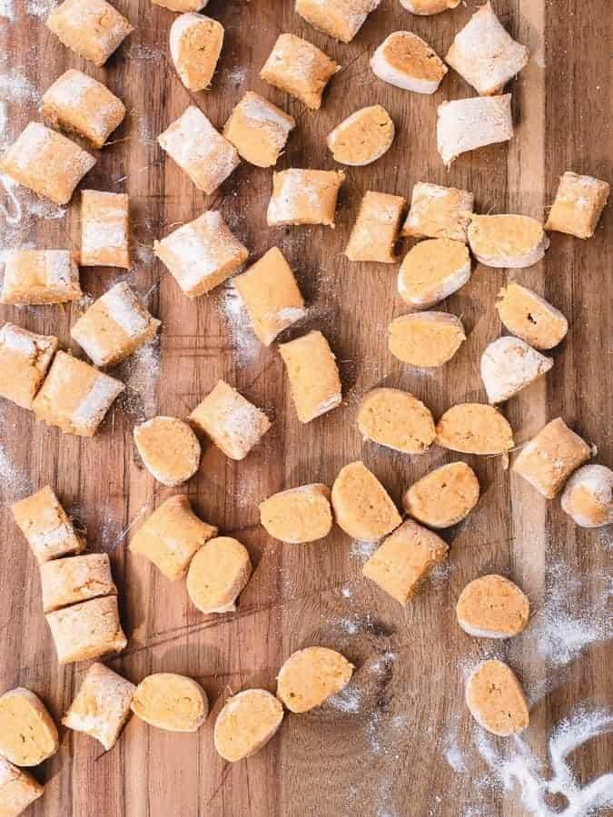 Sweet Potato Gnocchi | kickassbaker.com #sweetpotato #gnocchi #paleo #paleorecipe #glutenfree #dairyfree #nutfree