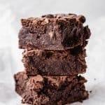 Kickass Brownies | kickassbaker.com #kickassbaker #brownies #fudgy #chocolate #dessert #decadent #thick