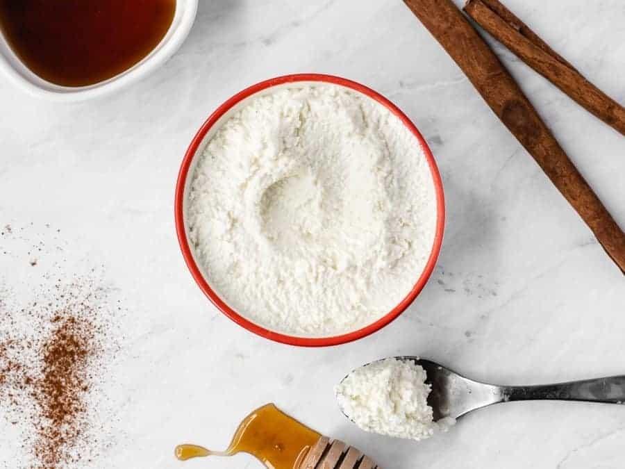 How to Make Homemade Fresh Ricotta in Less Than 30 Minutes | kickassbaker.com #ricotta #ricottacheese #homemade #fromscratch #lessthan30 #under30minutes #kickassbaker