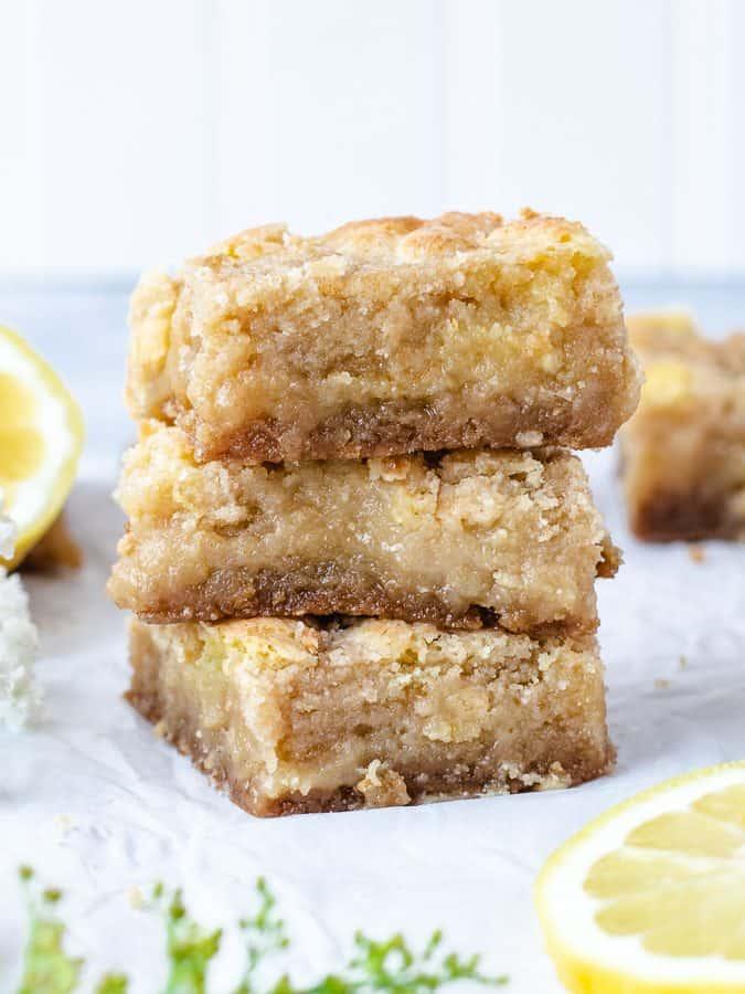 Lemon Crumb Bars   kickassbaker.com
