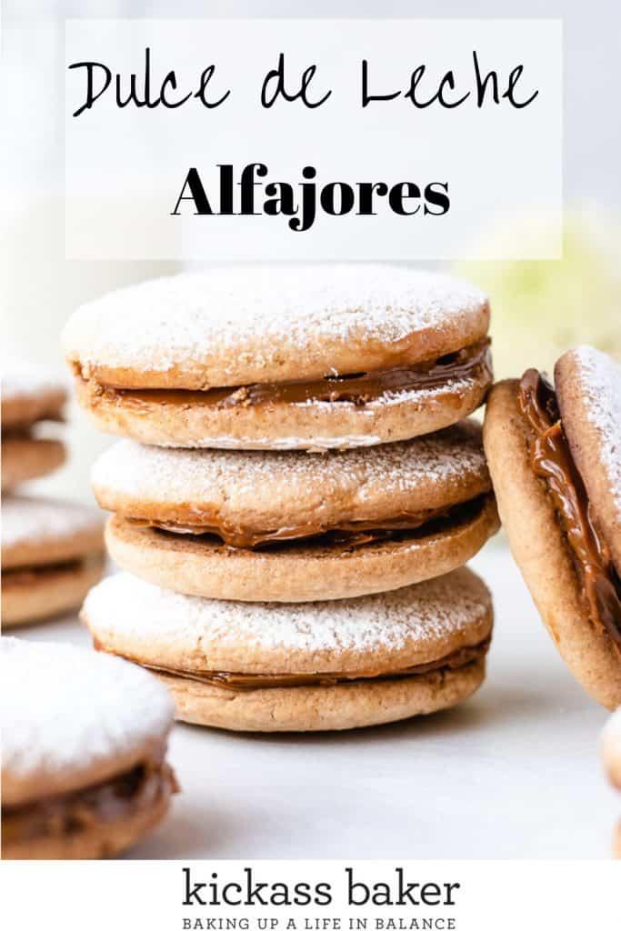 Alfajores | kickassbaker.com pin for Pinterest