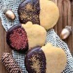 Pumpkin Sugar Cookies | kickassbaker.com pin for pinterest