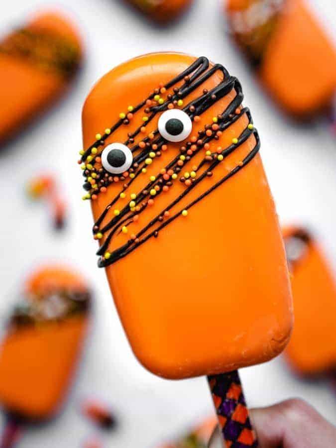 Halloween Cakesicles