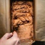 Cinnamon Swirl Bread (Gluten-free, Vegan) pin for pinterest
