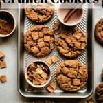 Cinnamon Toast Crunch Cookies 2 | kickassbaker.com pin for pinterest with text 1