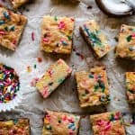 Sugar Cookie Bars | kickassbaker.com pin for pinterest 1