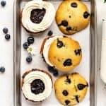 Blueberry Whoopie Pies | kickassbaker.com pin for pinterest 2