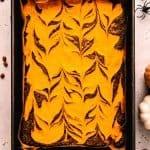 Halloween Cream Cheese Brownies | kickassbaker.com pin for pinterest 2