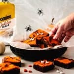 reaching for brownie with eyes domino golden sugar horizontal | kickassbaker.com-2