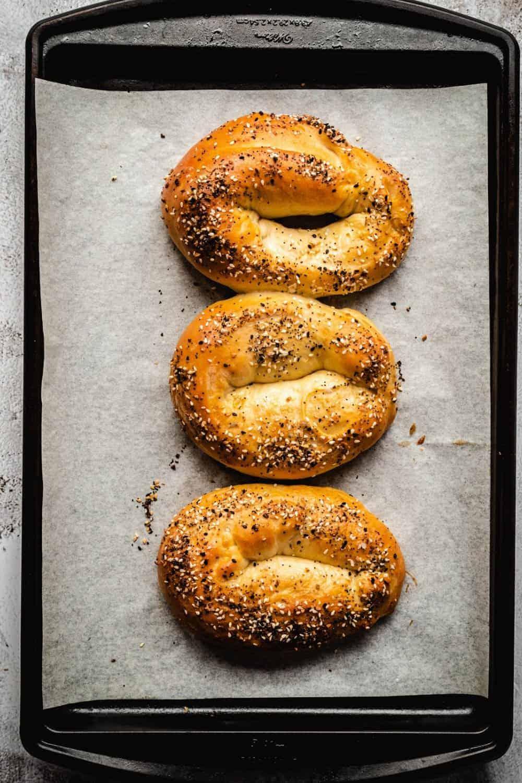Jerusalem Bagels | kickassbaker.com pin for pinterest 1
