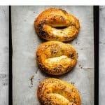 Jerusalem Bagels | kickassbaker.com pin for pinterest with text 1