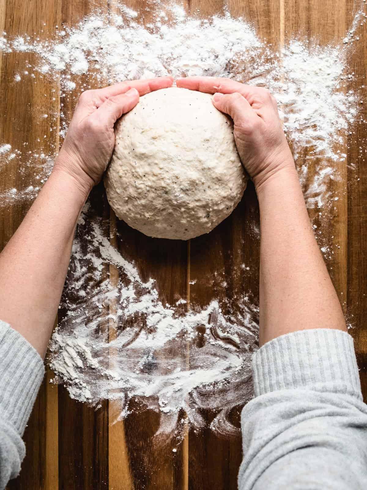 no knead whole wheat bread step 13