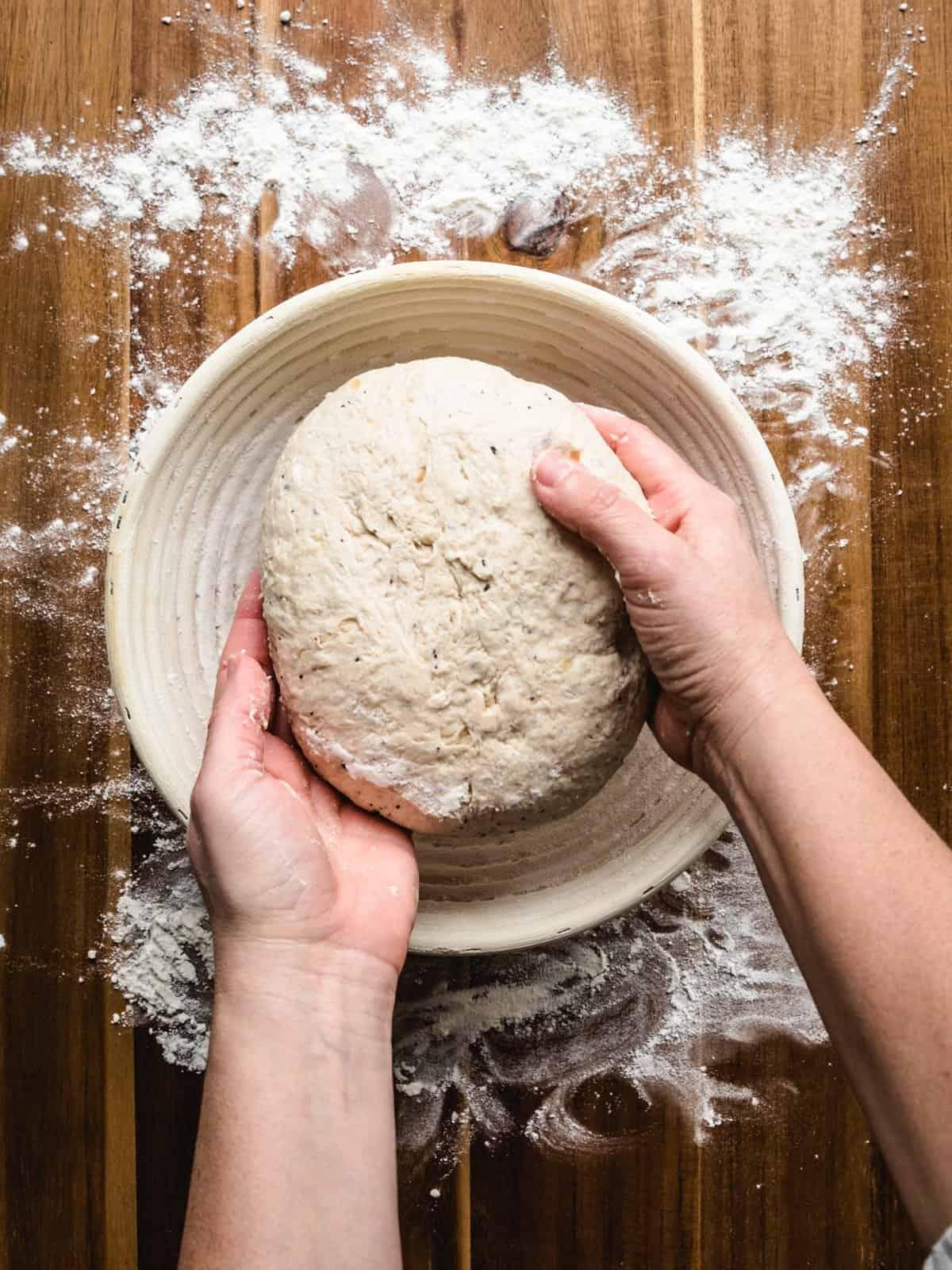no knead whole wheat bread step 15