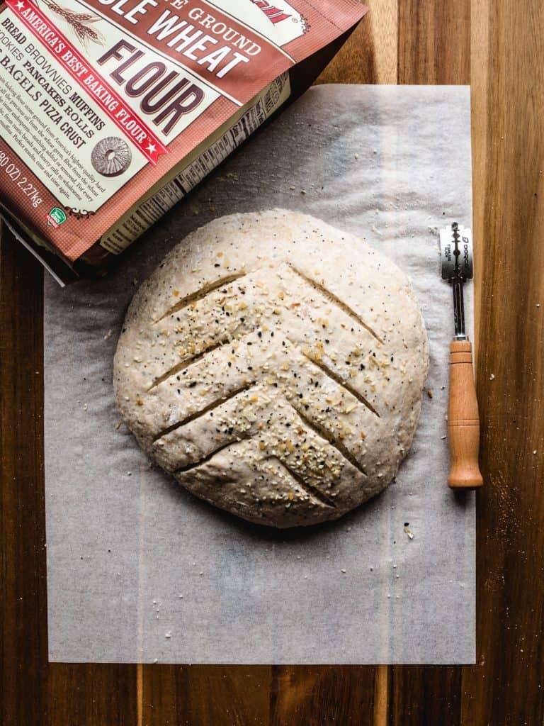 no knead whole wheat bread step 21