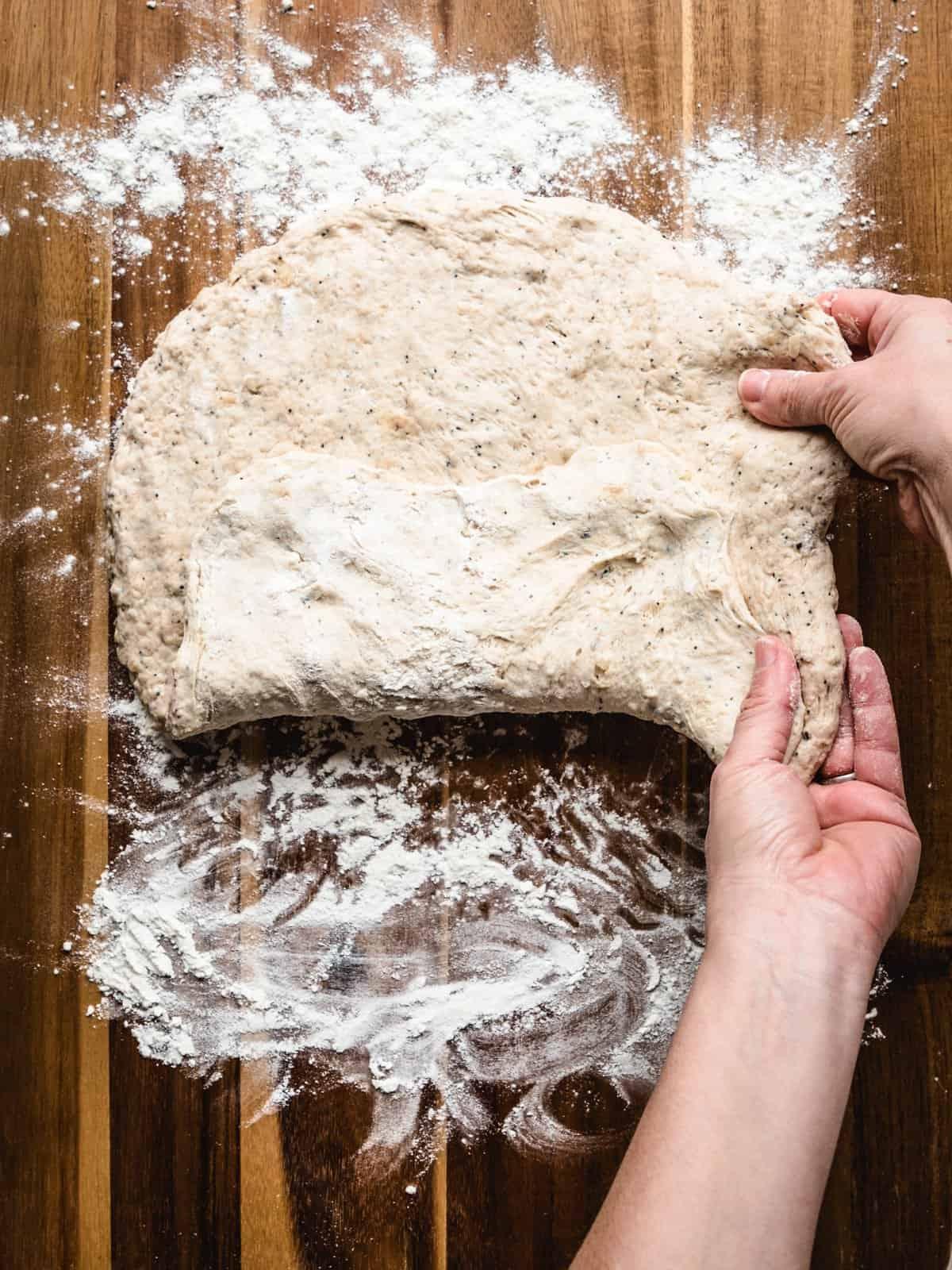 no knead whole wheat bread step 6