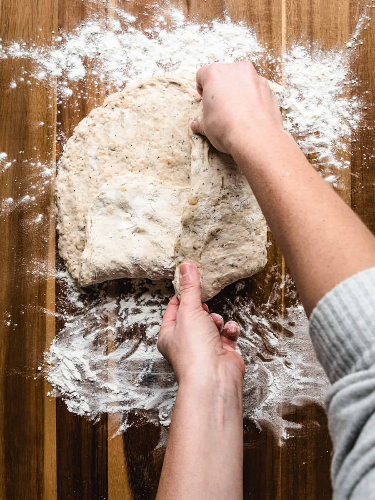 no knead whole wheat bread step 7
