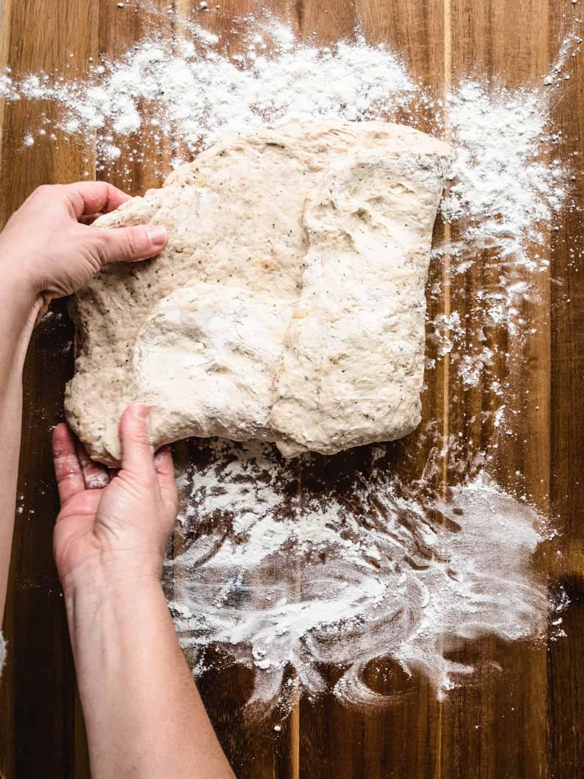 no knead whole wheat bread step 8