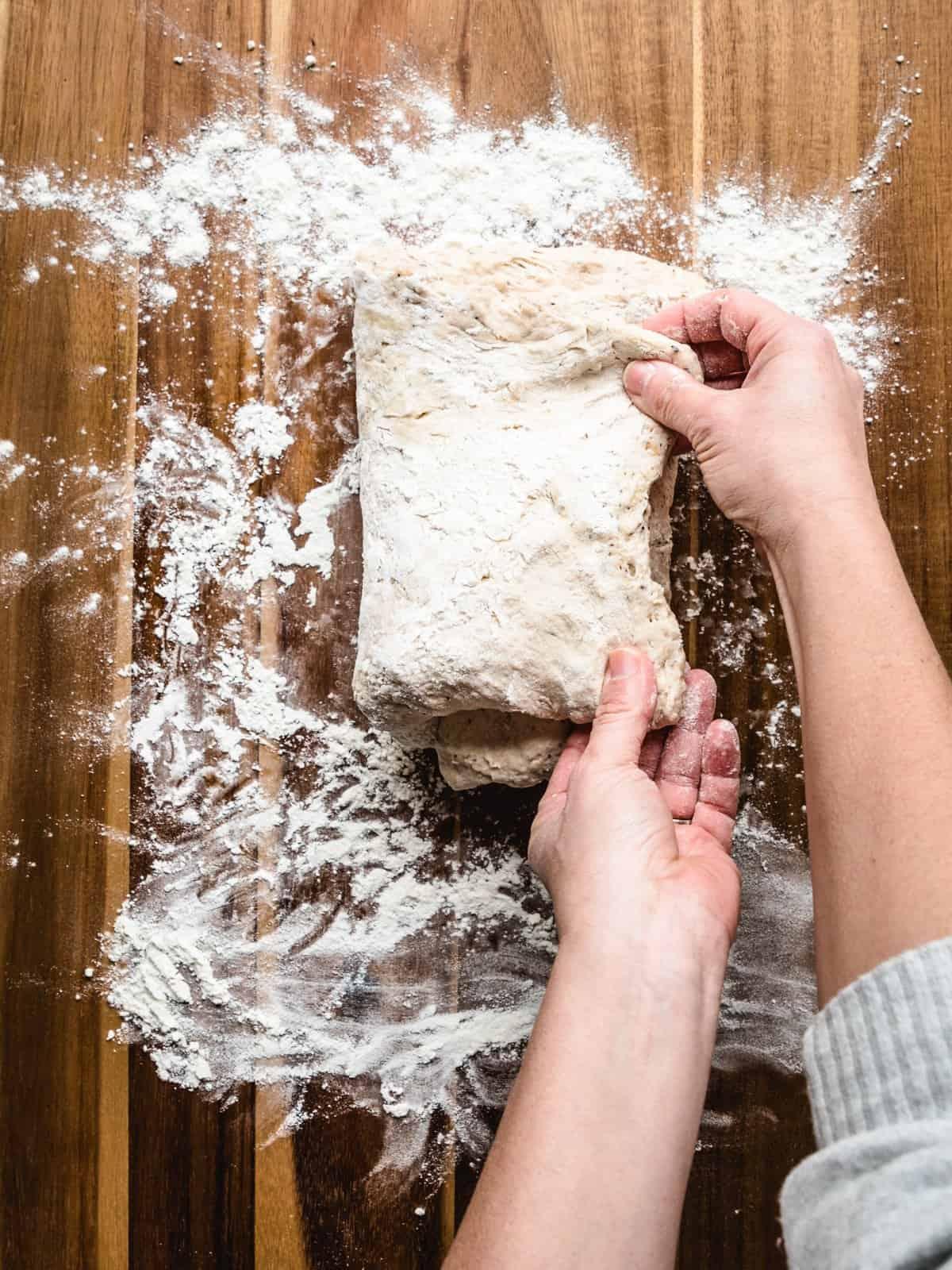 no knead whole wheat bread step 9