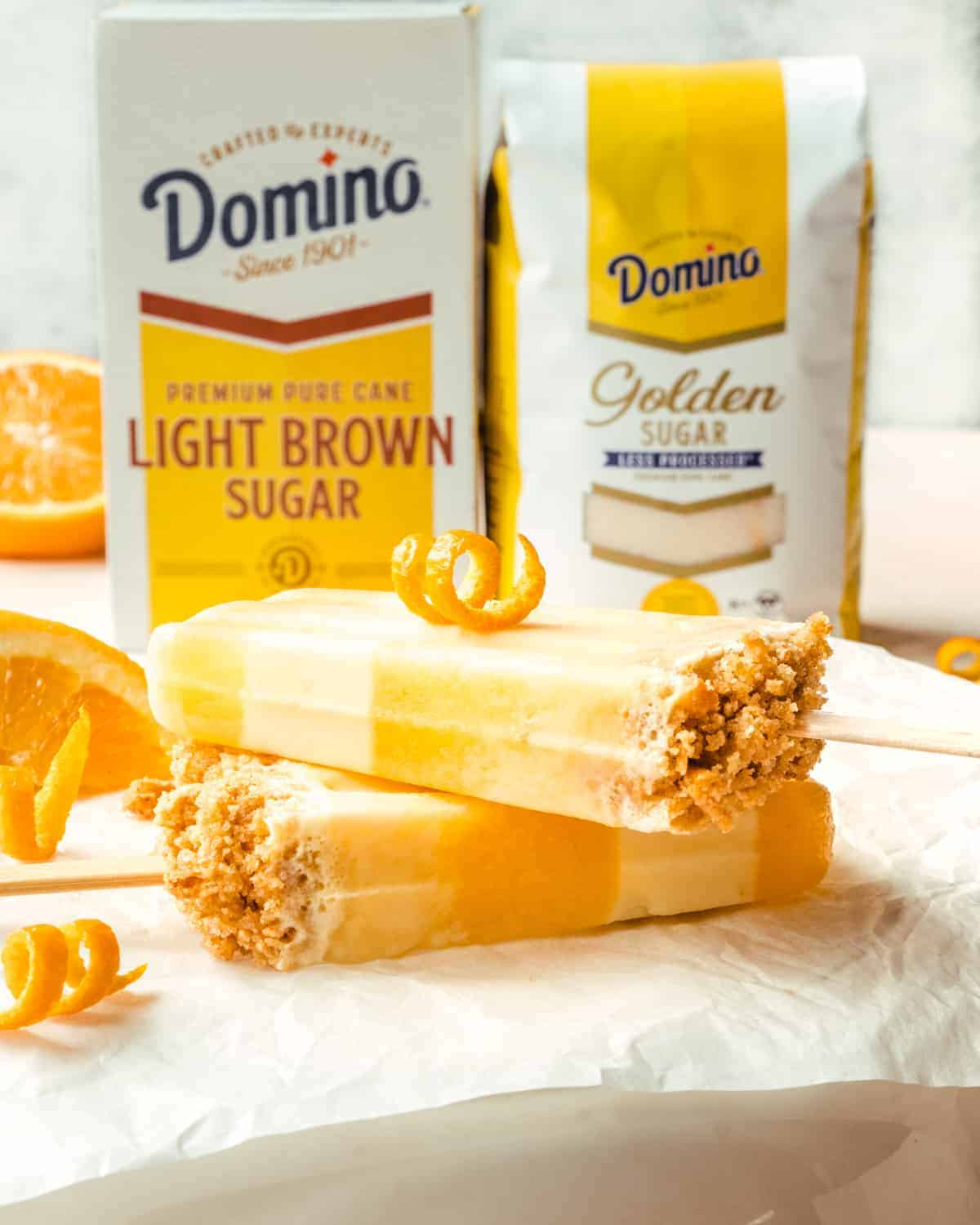 You'll want to make these delicious orange creamsicles all summer long!