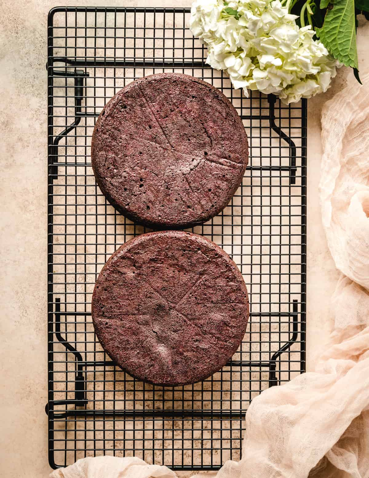 This chocolate torte is made from a dark chocolate torte mix, which makes it really easy to make.