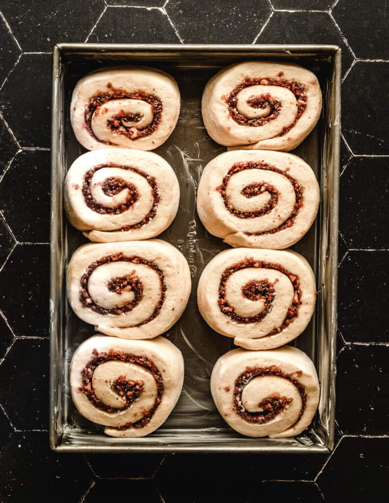 It will be hard to wait for the dough to rise before you enjoy these delicious cinnamon rolls, but it will be so worth it!