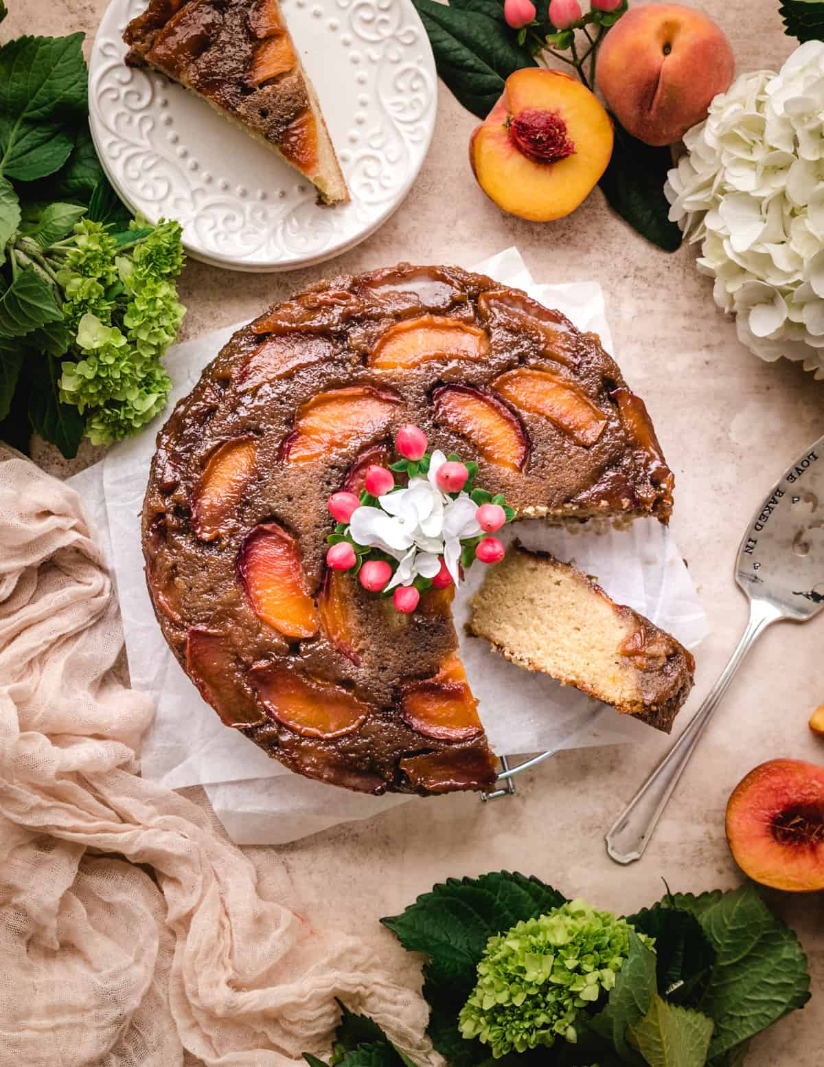 easy to make peach dessert recipe for your next pool party